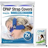 RespLabs CPAP Strap Covers - Fits Philips Respironics Wisp, 2 Pack - Reusable, Multi-Fit, Comfort Enhancing. Soft, Washable,