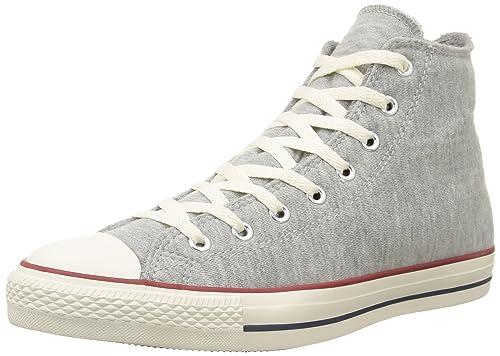 Converse Star Hi Unisex Adulti lacci grigio m lange Scarpe UK 4