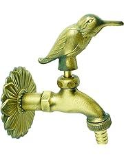 Nostalgie–Válvula pájaro (latón, con roseta de pared