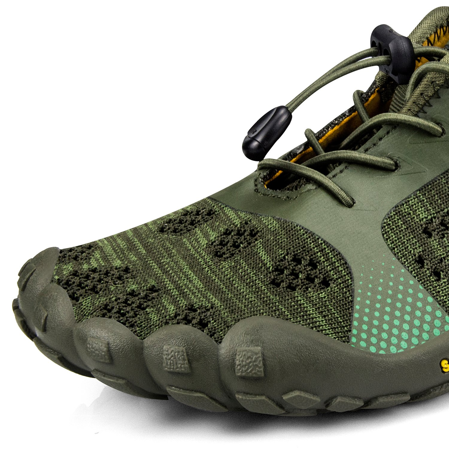 QANSI Womens Hiking Shoes Barefoot Water Shoes Mesh Breathable Outdoor Gym