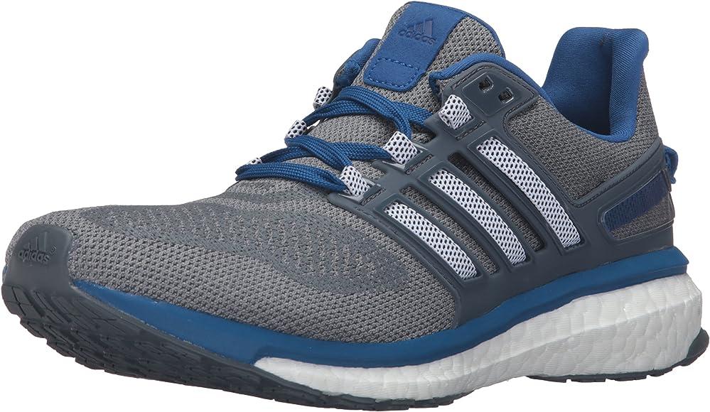 Energy Boost 3 M Running Shoe, Mid Grey
