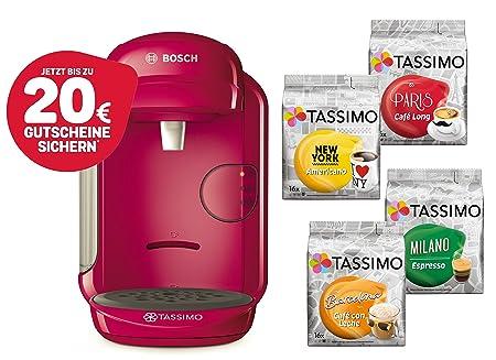 Bosch Tassimo Vivy 2 Cápsula eléctrica + 4 x T Discos de ...