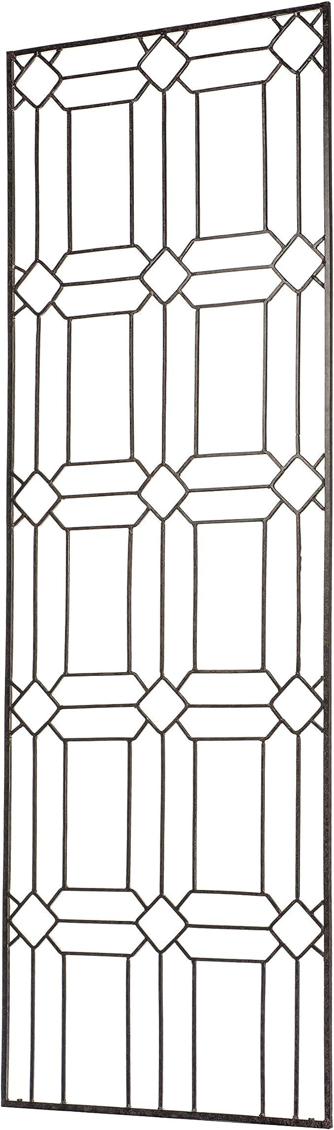 Extensible trellis PVC MT 4x1 White for decorations Vines Ivy