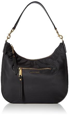 72c708338abd Amazon.com  Marc Jacobs Trooper Hobo Black  Clothing