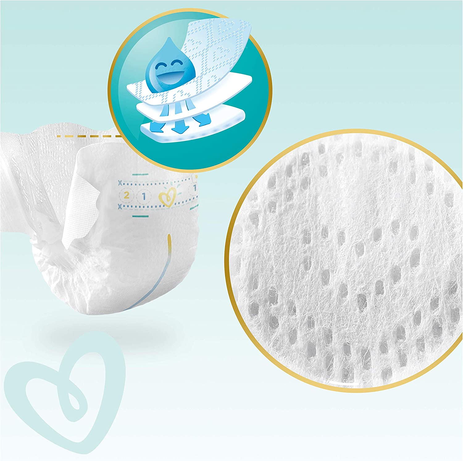 Pampers Premium Protection New Baby Gr.2 Mini 4-8kg Doppelpack