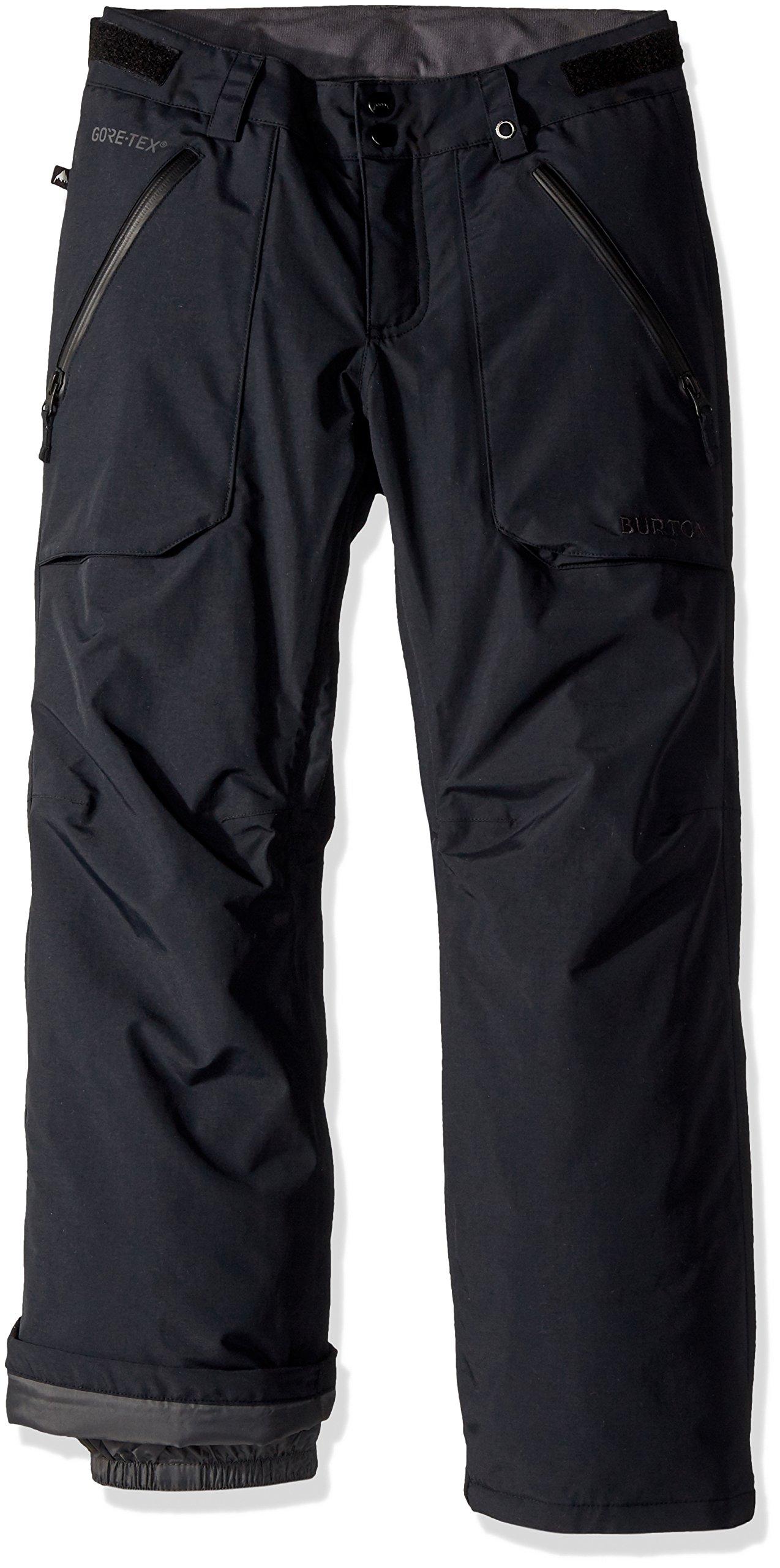 Burton Kids' Gore-tex Stark Snow Pant, True Black W18, X-Small