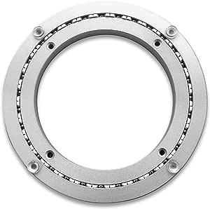 (8 Inch) - Heavy-Duty Aluminium Lazy Susan Ring/Turntable with Single-Row Ball Bearings for Heavy Loads, 20cm