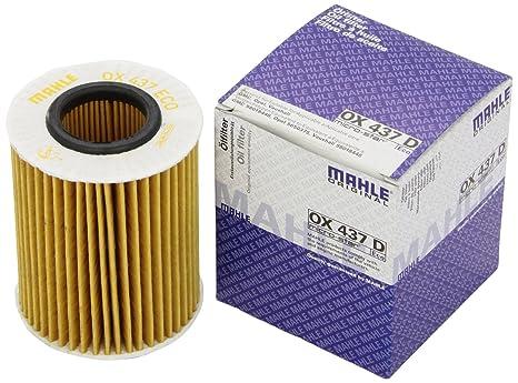Knecht OX 437D filtro de aceite
