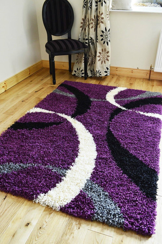 Purple And Silver Bedroom 5 Sizesnew Small Medium Xx Large Modern Purple Black Silver