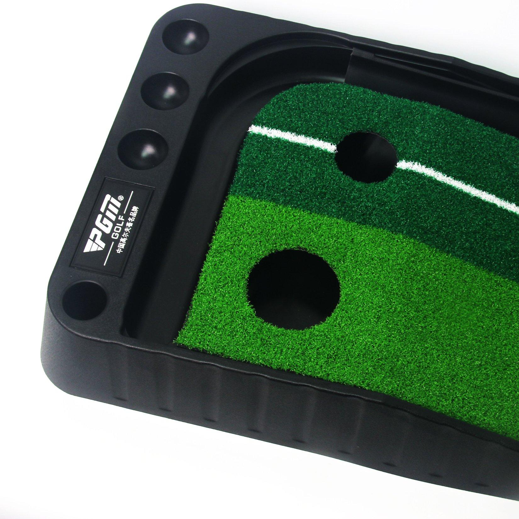 Signstek Indoor Outdoor Golf Auto Return Putting Trainer Mat by Signstek (Image #7)
