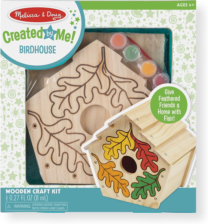 Melissa & Doug Created by Me! Birdhouse Wooden Craft Kit