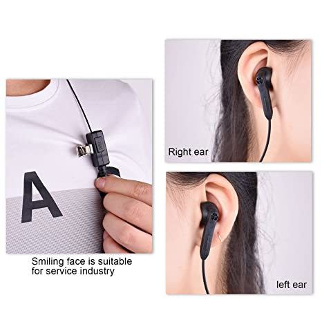 Earphones & Headphones 1 Pin Fbi Earhook Earpiece D Type Headset Ptt For Motorola Talkabout Portable Radio Tlkr T3 T4 T60 T80 Mr350r Walkie Talkie Fr Consumer Electronics