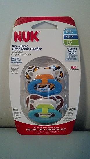 Amazon.com: NUK Tetina de ortodoncia Chupetes de estampado ...