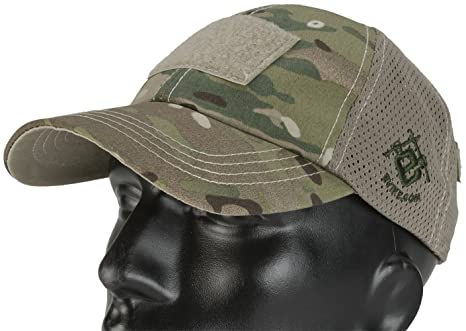 7b5987f9ecc Amazon.com  Evike Official Embroidered Tactical Mesh Cap - Multicam ...
