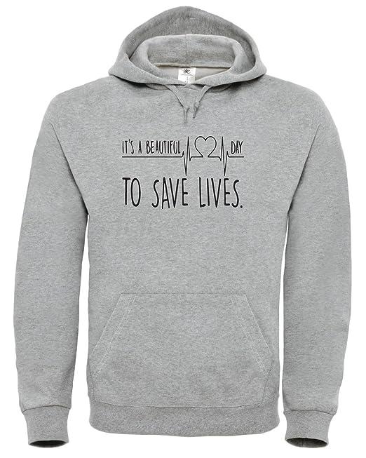 Beautiful Blacksweatshirt To It's A Day Anatomy Grey's Lifes Save sQroBdCxth