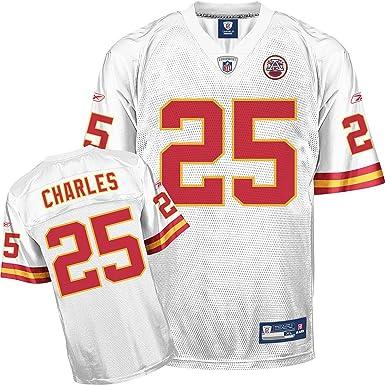 Amazon.com : Reebok Kansas City Chiefs Jamaal Charles Replica ...
