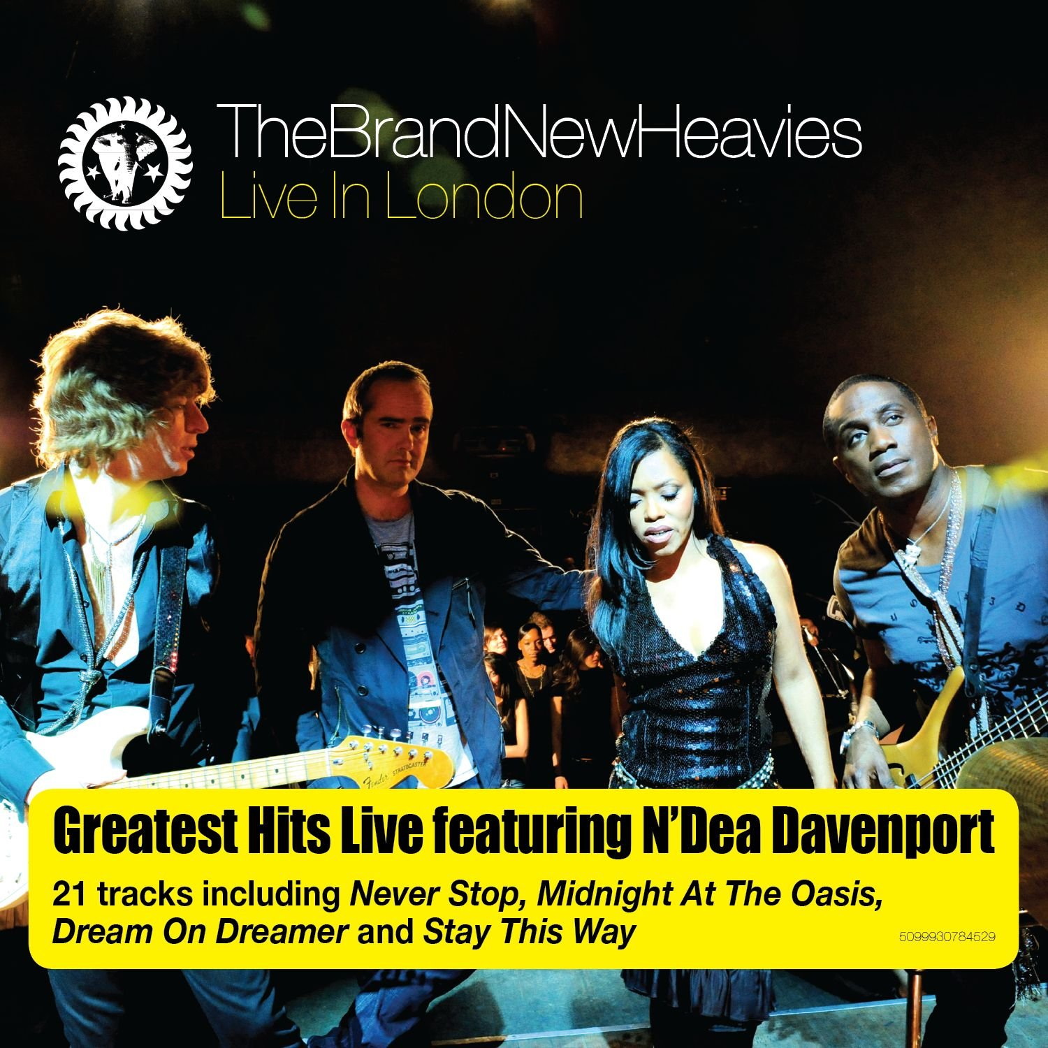 Live In London [2 CD] by Brand New Heavies, The (Image #1)