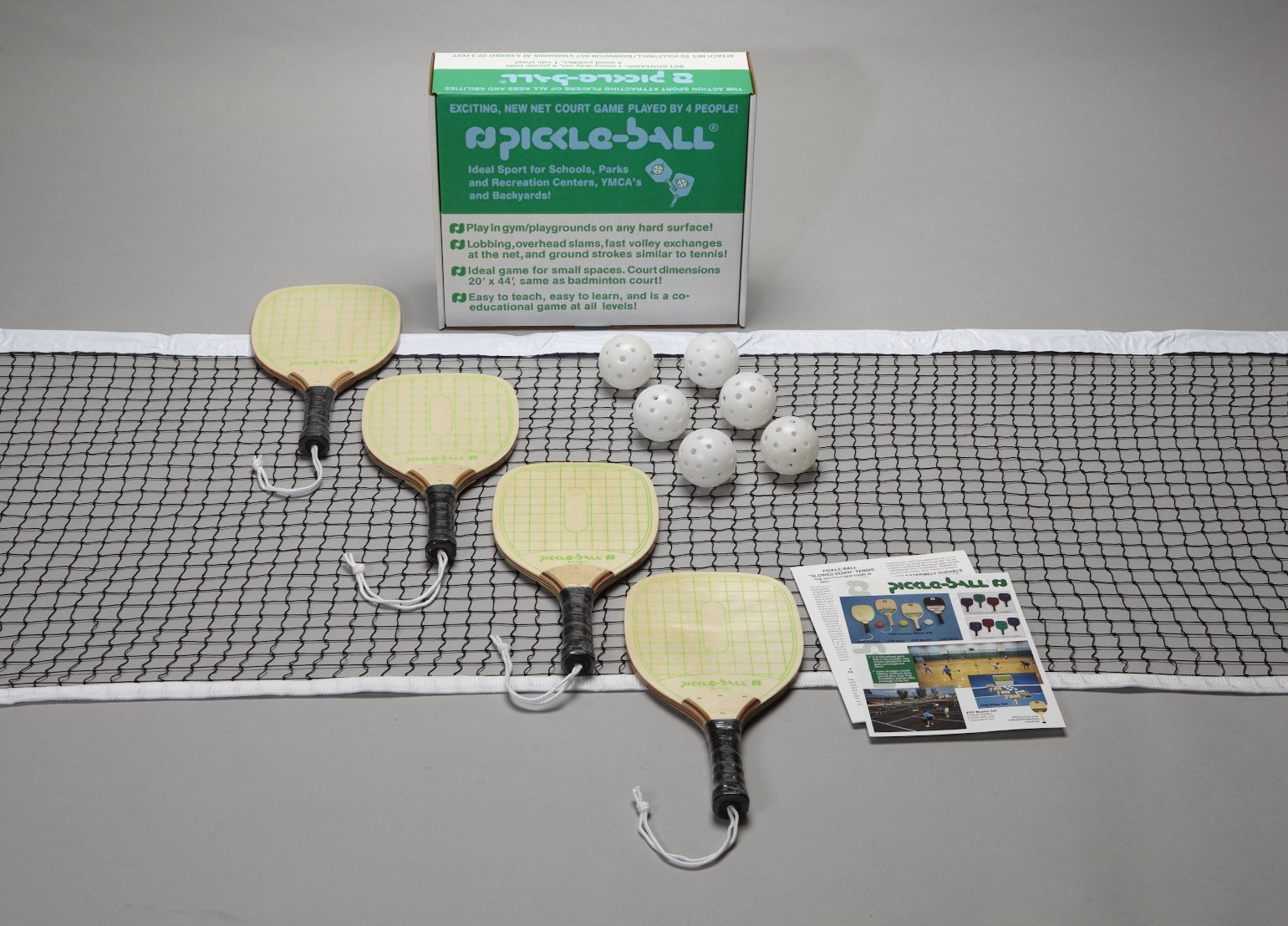 Pickle-Ball 2.0 Tournament Set- Swinger Paddle - Taiwan by Pickle-Ball