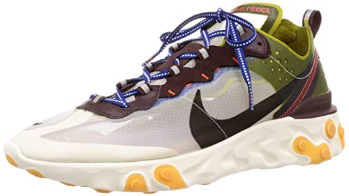 large discount available the latest Amazon.com | Nike React Element 87 Mens Aq1090-300 | Road ...