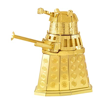 Amazon Fascinations Metal Earth Doctor Who Gold Dalek 3d Laser