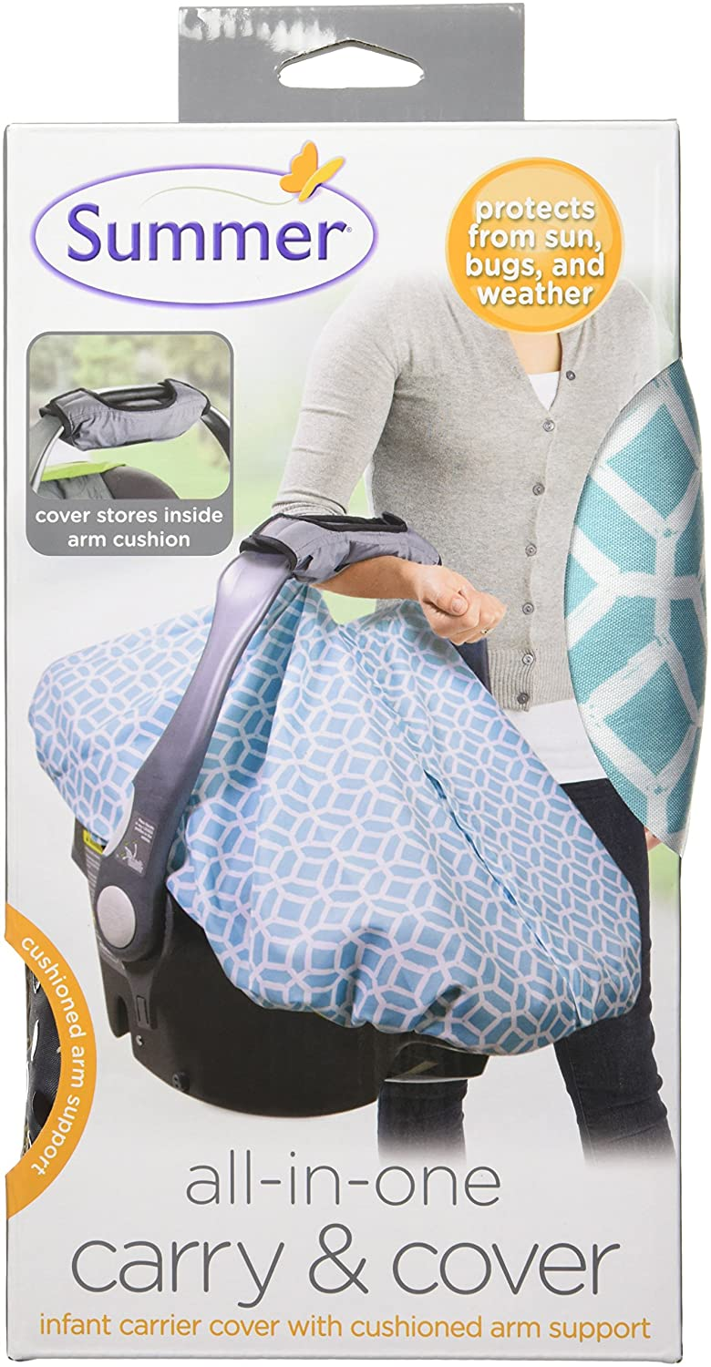 Summer Infant Carry And Cover Car Seat Clover 78220