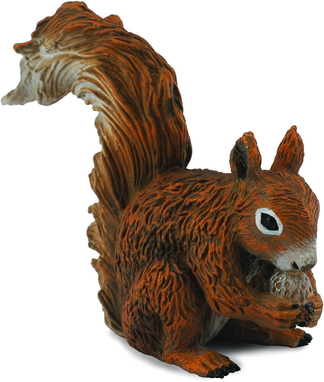 CollectA Woodlands Red Squirrel (Eating) Miniature Toy Figure - Authentic Hand Painted Model