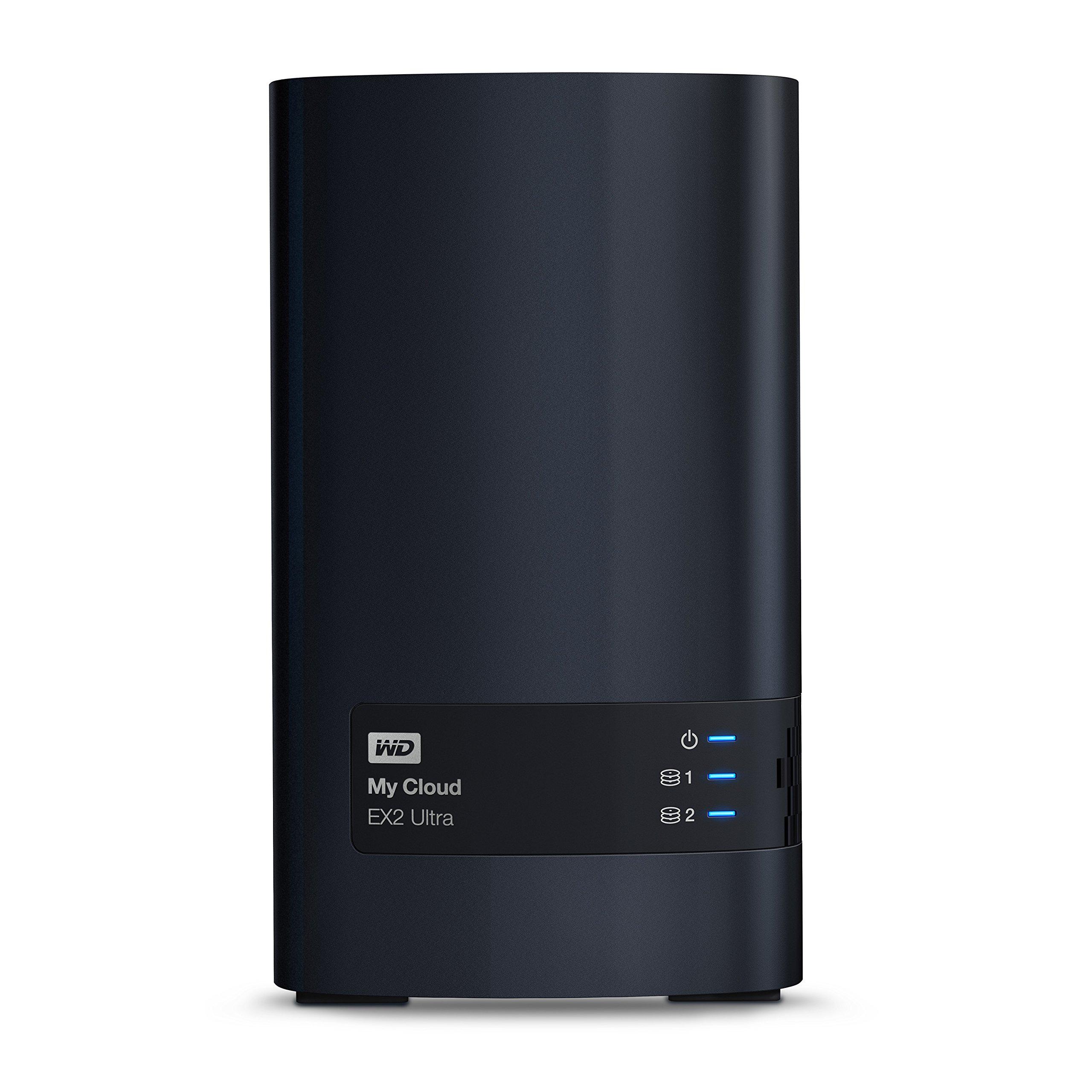 WD 4TB My Cloud EX2 Ultra Network Attached Storage - NAS - WDBVBZ0040JCH-NESN by Western Digital