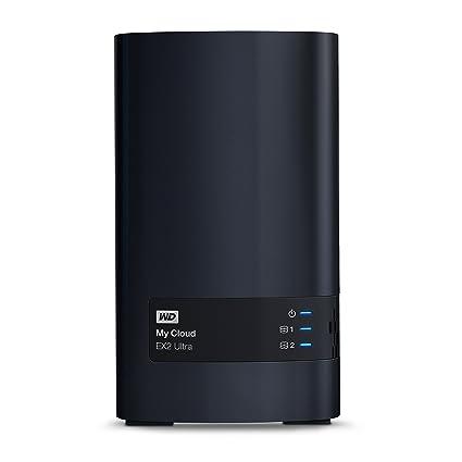 WD My Cloud EX2 Ultra 16 TB - Network Attached Storage - 2 Bay NAS - Streamen auf PC, Mobilgeräte, Spielkonsolen, Mediaplayer
