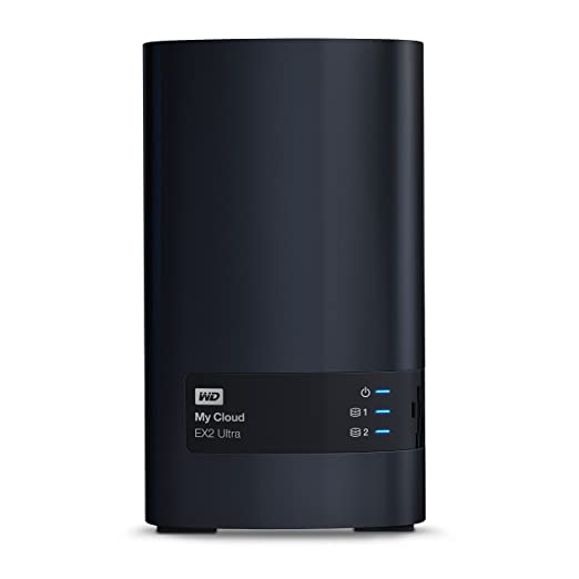52 opinioni per WD WDBVBZ0080JCH-EESN My Cloud EX2 Ultra Network Attached Storage, 8 TB