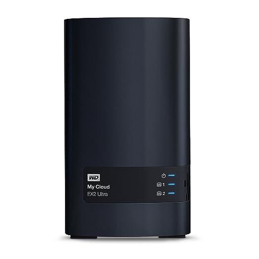 55 opinioni per Western Digital My Cloud EX2 Ultra NAS Collegamento ethernet LAN Nero