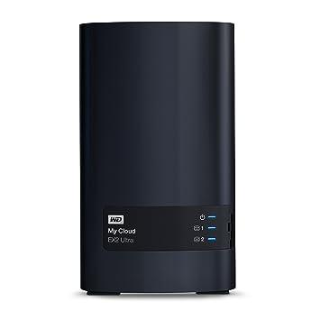 WD My Cloud EX2 Ultra - Almacenamiento en Red NAS de 4 TB, 2 x 2 TB incluidos