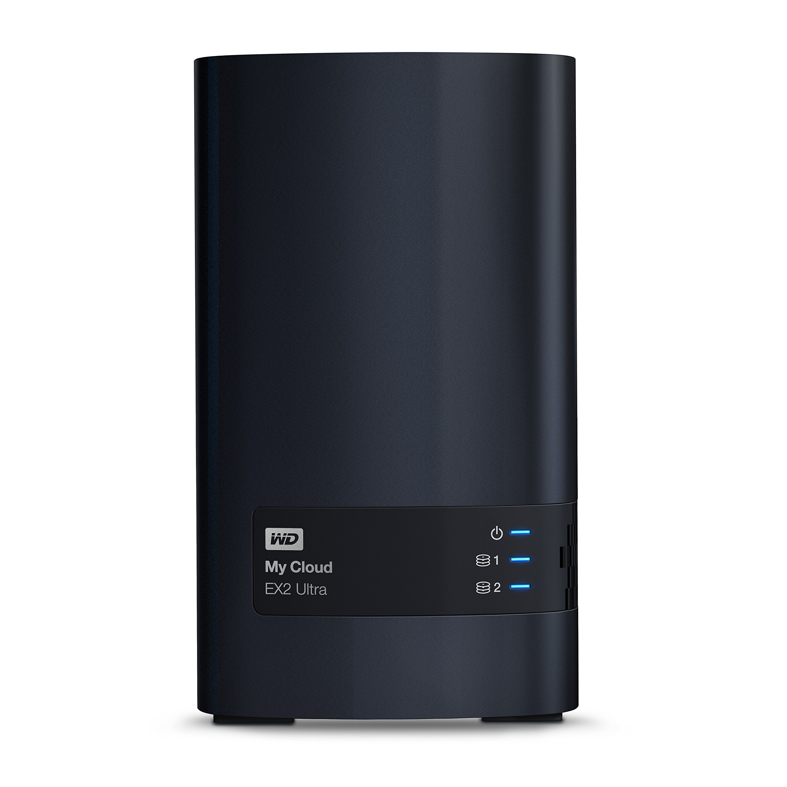 WD 4TB My Cloud EX2 Ultra Network Attached Storage - NAS - WDBVBZ0040JCH-NESN by Western Digital