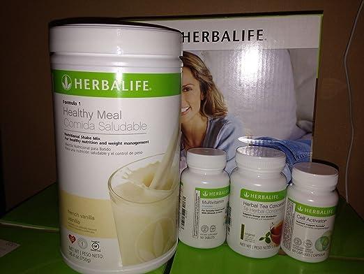 Amazon.com: Herbalife QuickStart Program - Choose Your Flavor (French Vanilla): Health & Personal Care