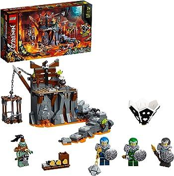 Ninjago TV Series Viaje a las Mazmorras Calavera 2en1 Set de Construcción y Juego de Mesa, multicolor (Lego ES 71717): Amazon.es: Juguetes y juegos