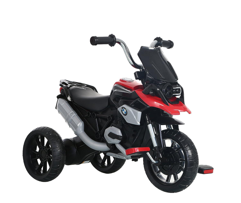 ROLLPLAY Dreirad, Für Kinder ab 2 Jahren, Bis max. 22 kg, BMW R1200 GS Motor Trike, Rot Für Kinder ab 2 Jahren 42314