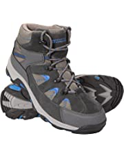 Mountain Warehouse Rapid Mens Waterproof Walking Boots - Waterproof Rain Boots, Sturdy Grip, Eva Cushioned Shoes, Mesh Lining -Footwear for Hiking, Camping in Wet Weather