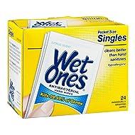 Wet Ones 24ct Citrus Size 24ct Wet Ones Citrus Scent Antibacterial Wipes Singles 24ct
