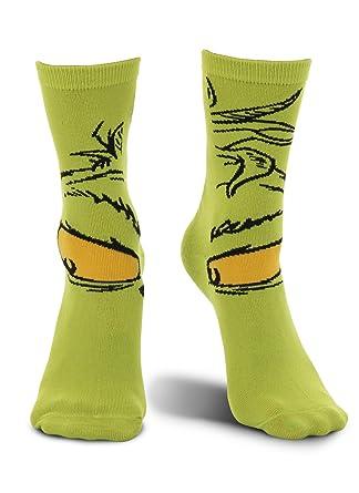 elope Dr. Seuss Grinch Christmas Costume Crew Socks