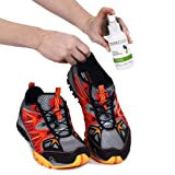 Natural Mint Shoe Deodorizer, Foot Deodorant Spray. Fights Odor, Stink Caused by Bacteria. Spray Freshens Better Than Messy Powders, Antiperspirants, Insoles, Sneaker Balls. Use on Feet or