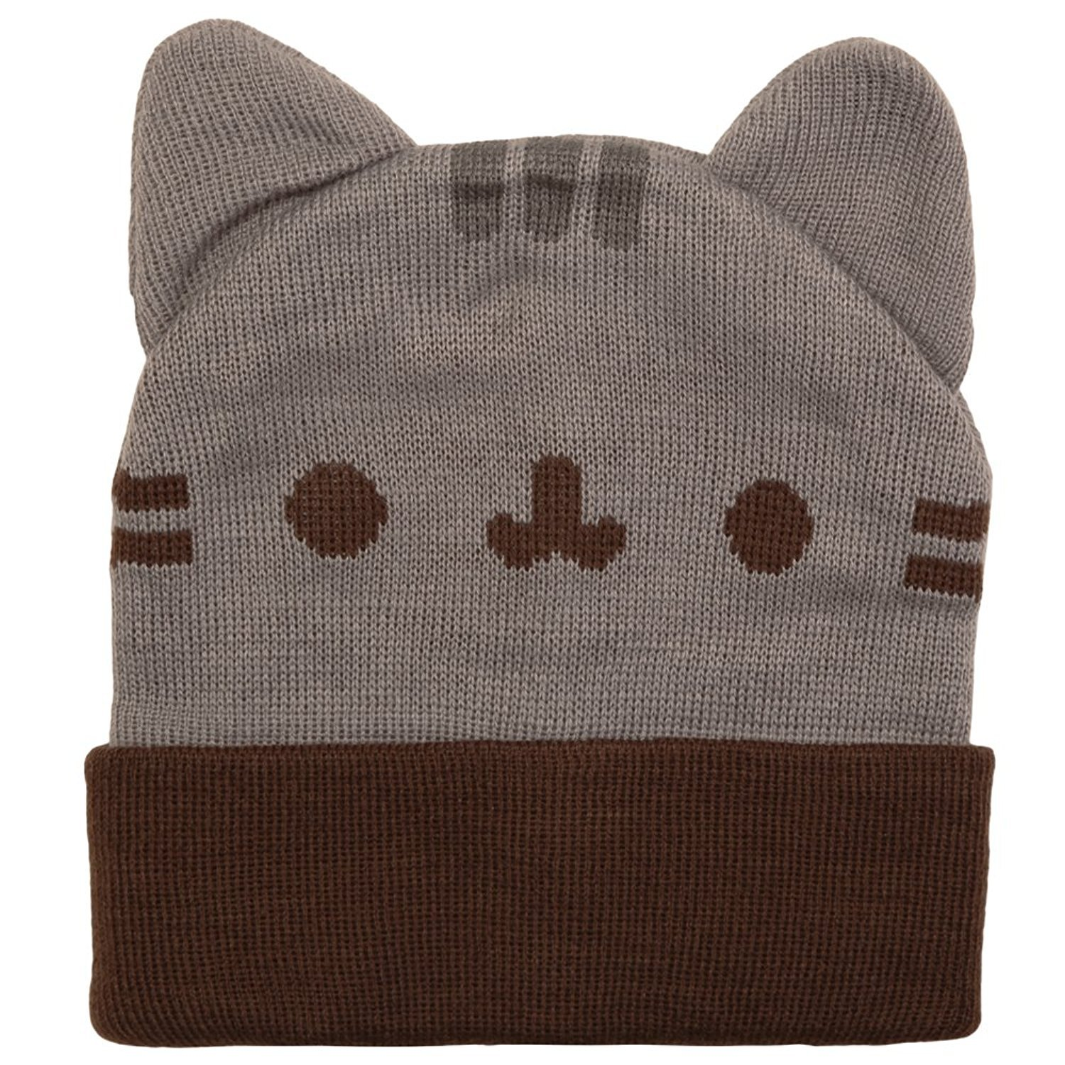 Pusheen Beanie Hat with Ears Gray Standard PU6A0015OL