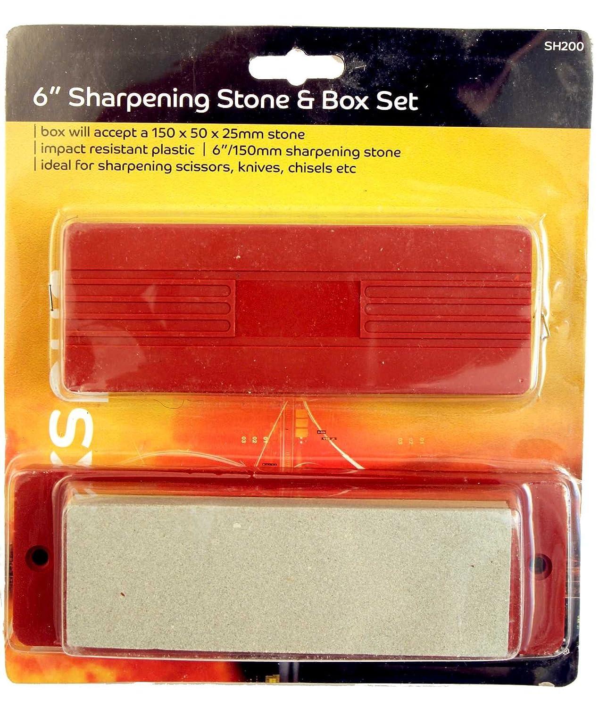 Blackspur BB-SH200 Sharpening Stone and Box Set