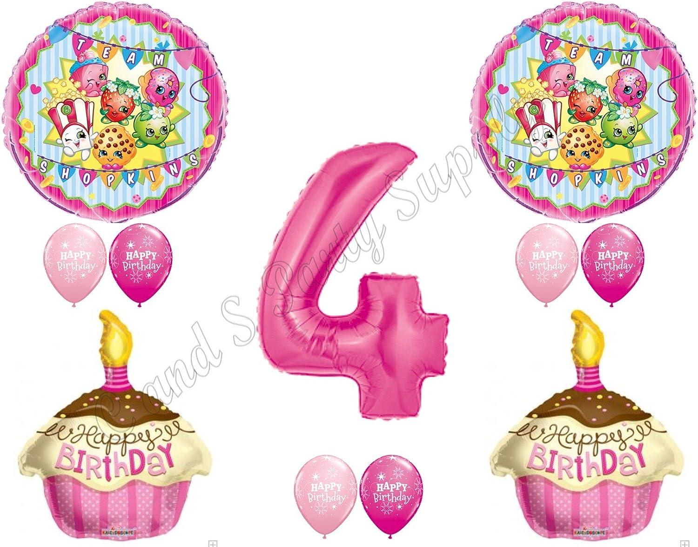 10 SHOPKINS PARTY FAVORS ~RING POP~