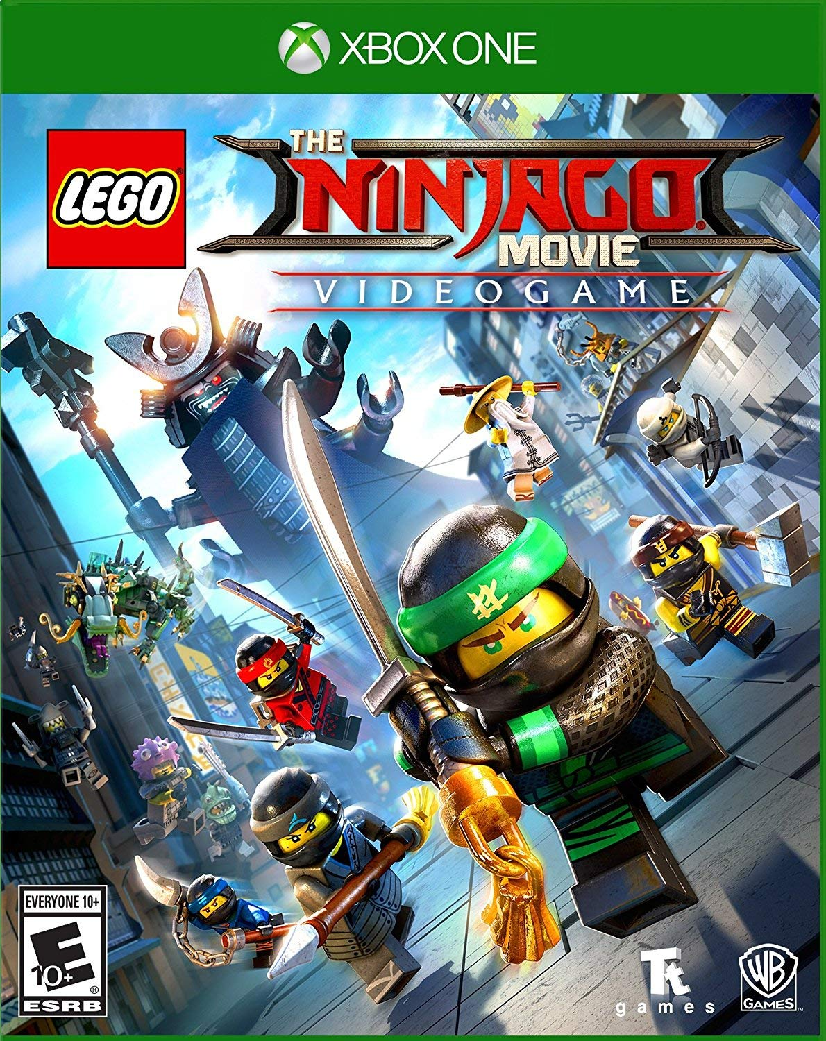 Amazon.com: The Lego Ninjago Movie Videogame - Xbox One: Whv Games: Video  Games