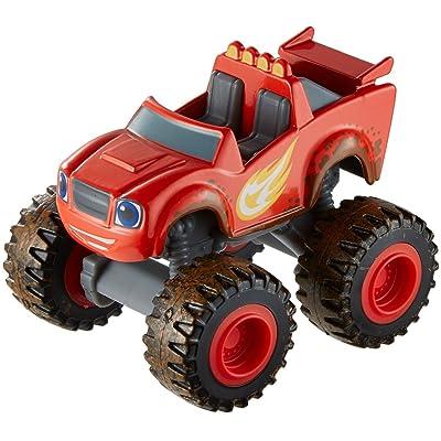 Fisher-Price Nickelodeon Blaze & The Monster Machines, Mud Racin\' Blaze: Toys & Games [5Bkhe1005661]