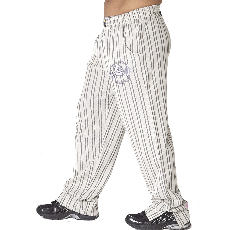 BIG SAM SPORTSWEAR COMPANY Bodybuilding Mens Baggy Track Pants Bodypants 870