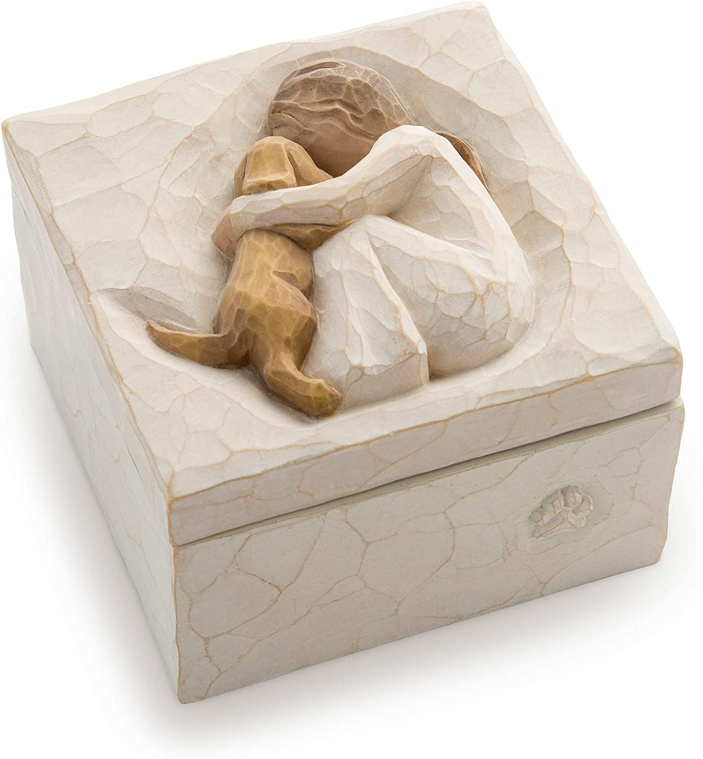 Willow Tree True, Sculpted Hand-Painted Keepsake Box