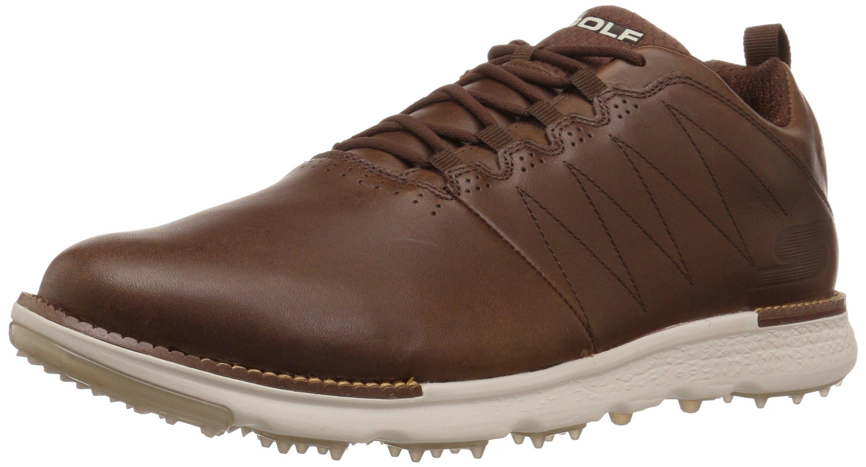Skechers Men's Go Golf Elite 3 Lx Golf Shoe,Chocolate,7.5 M US