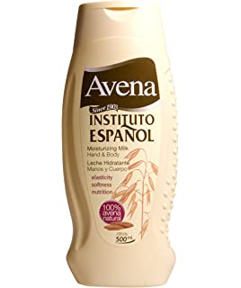 BODY MILK INST ESPAÑOL 500 ML AVENA