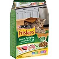 Purina Friskies 12373674 iskies Indoor Delights Cat Food 1.1kg(Pack of 1)