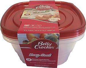 Betty Crocker Easy Seal Container (43.3 fl oz)